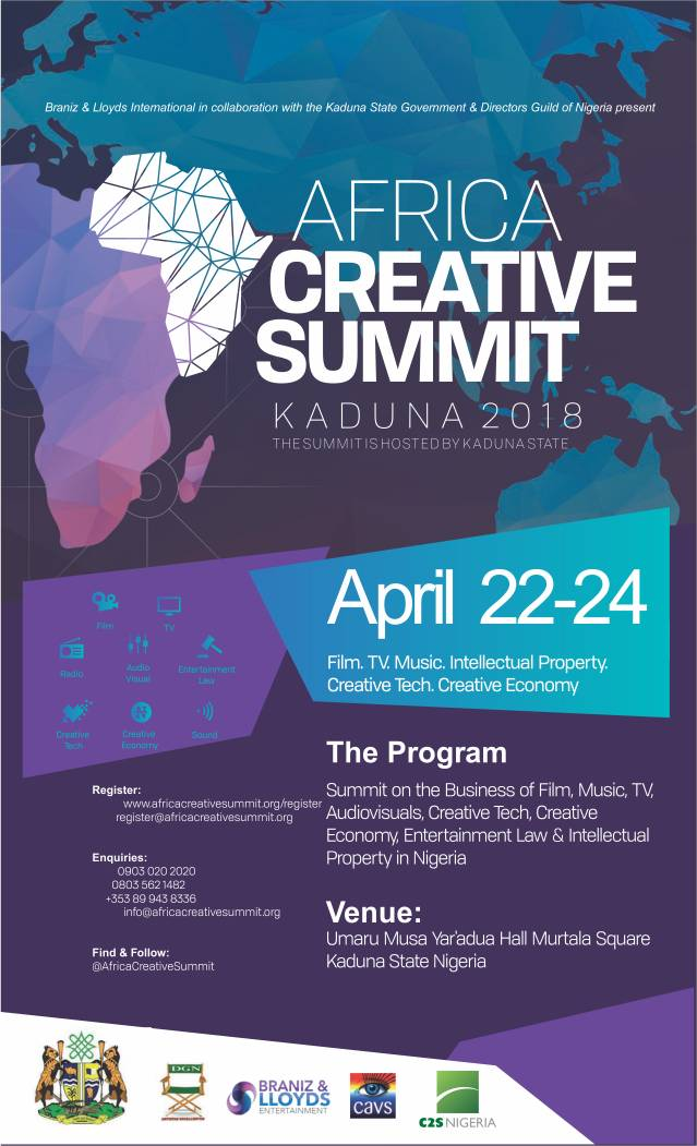 Africa Creative Summit flyer