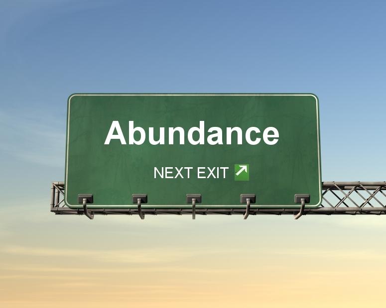 This way to Abundance!!!
