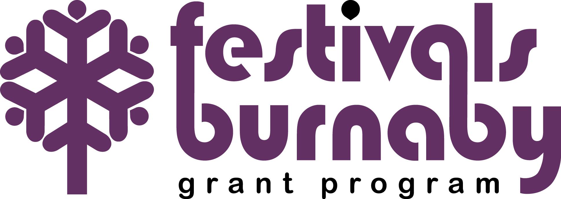 Festivals Burnaby Grant Program Logo
