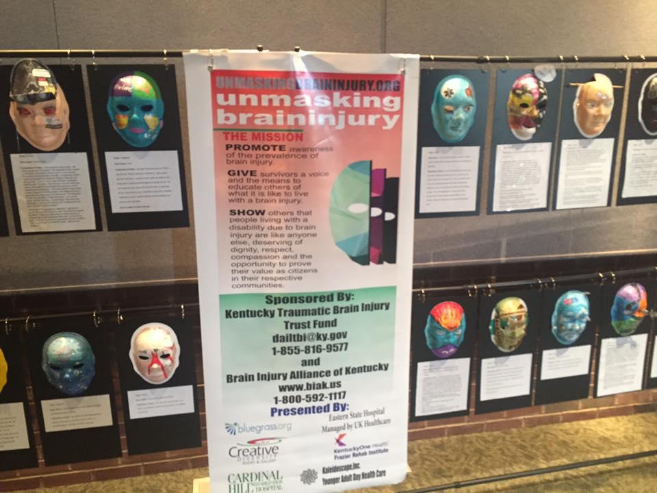 Masks of Brain Injury