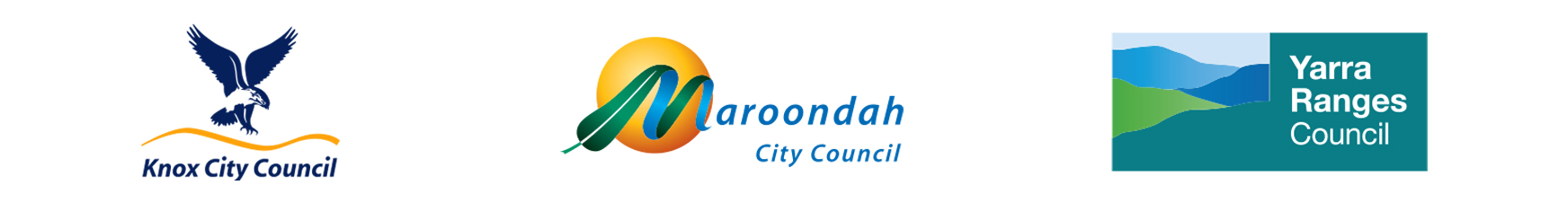 Knox City Council, Maroondah City Council, Yarra Ranges Council