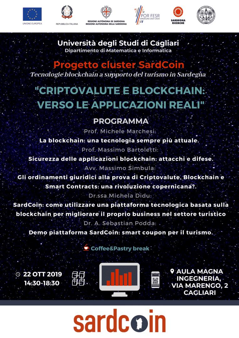 Locandina evento SardCoin