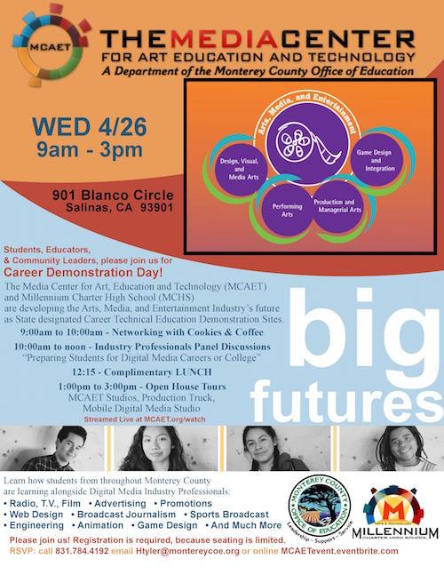 MCAET Career Demonstration Day Flyer