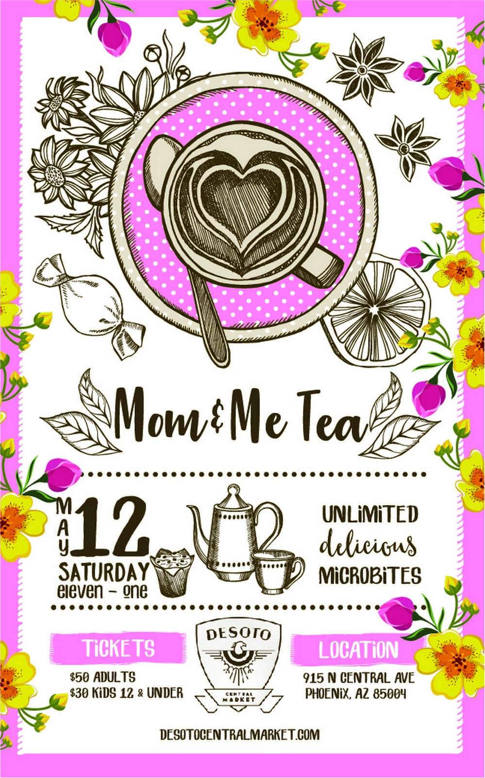 Mom & Me Tea at Desoto Market
