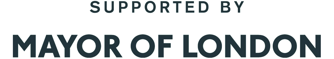 Logo showing support of Mayor of London
