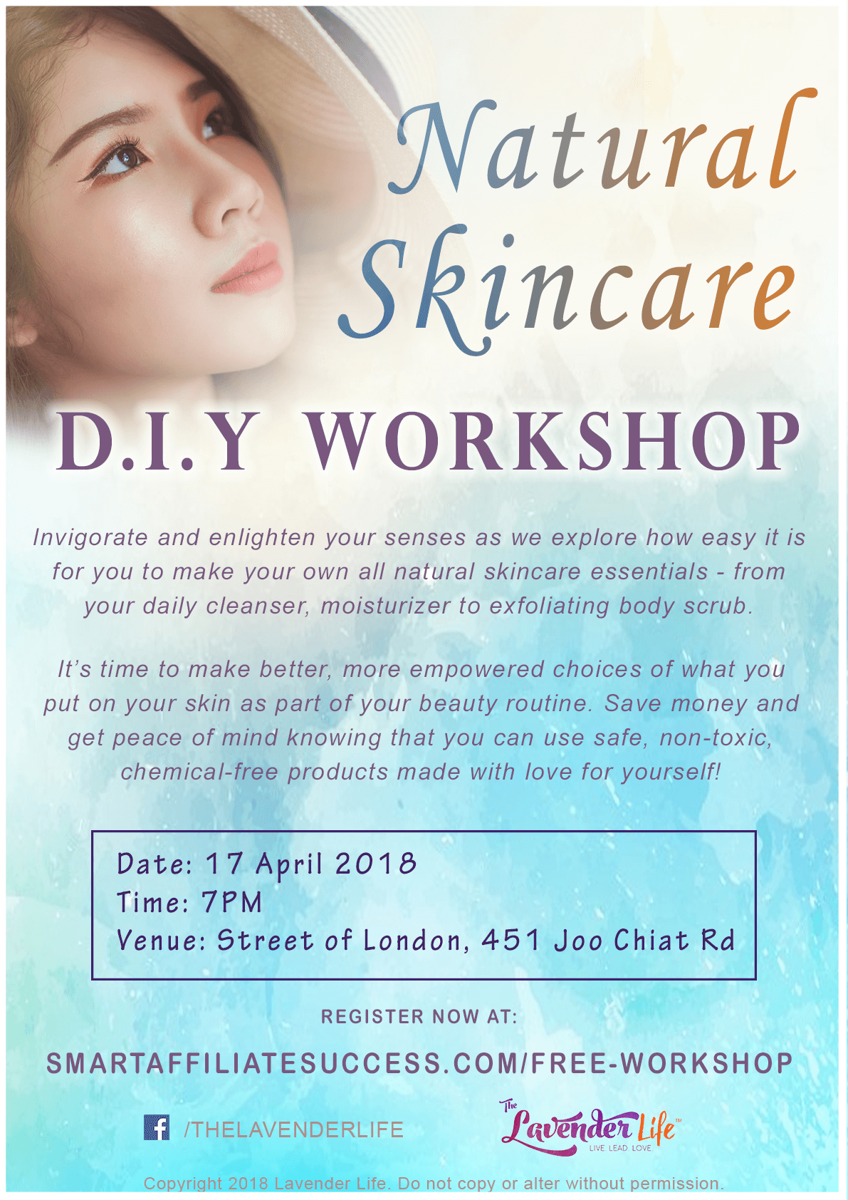 natural skincare diy workshop