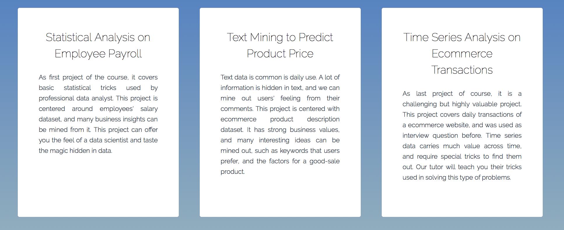 Singapore Best Advanced Data Analytics and Machine Learning