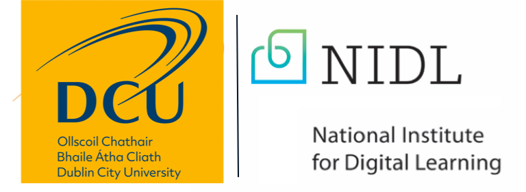 NIDL and DCU logo