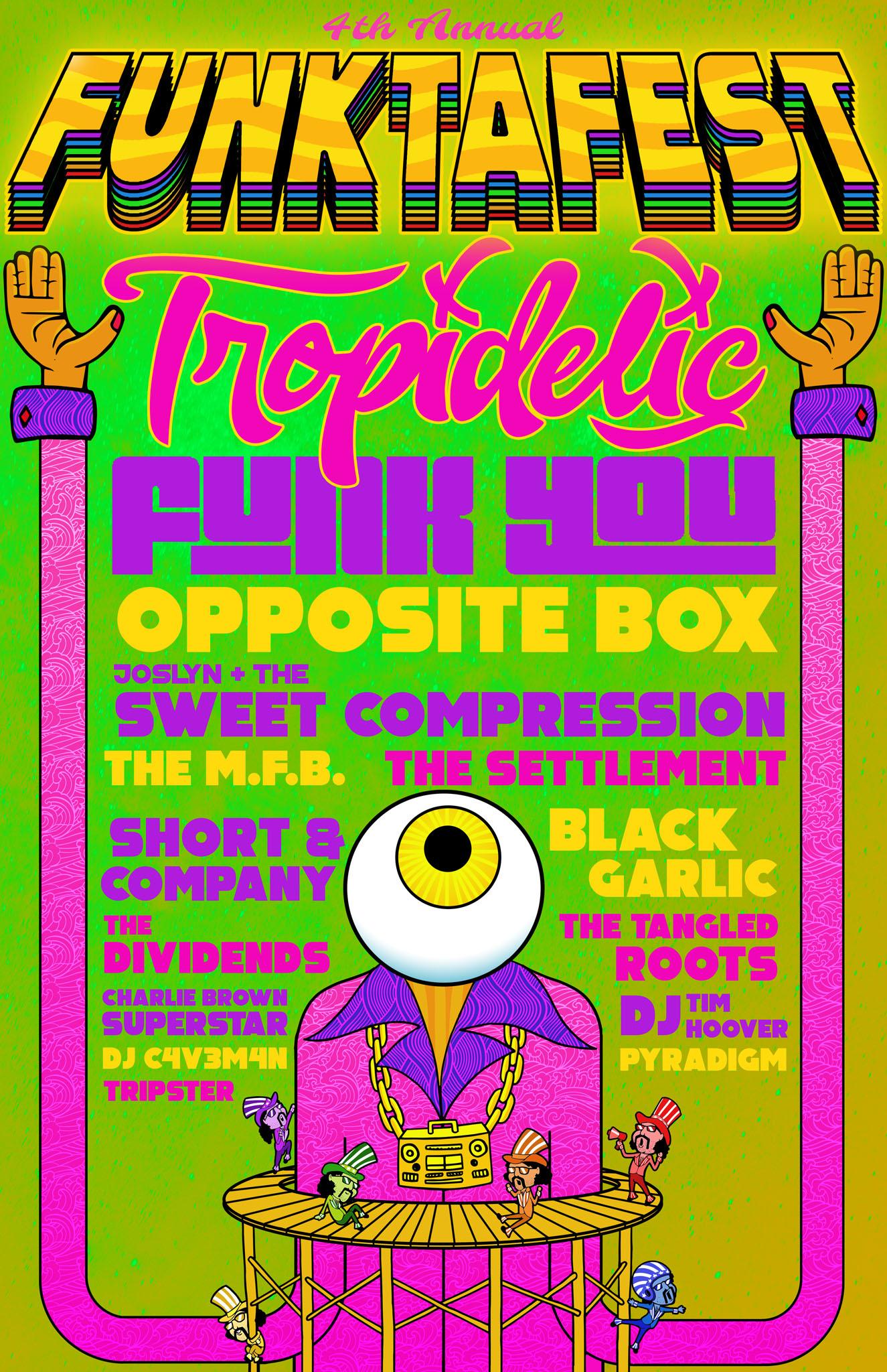 Funktafest 2019 Flyer