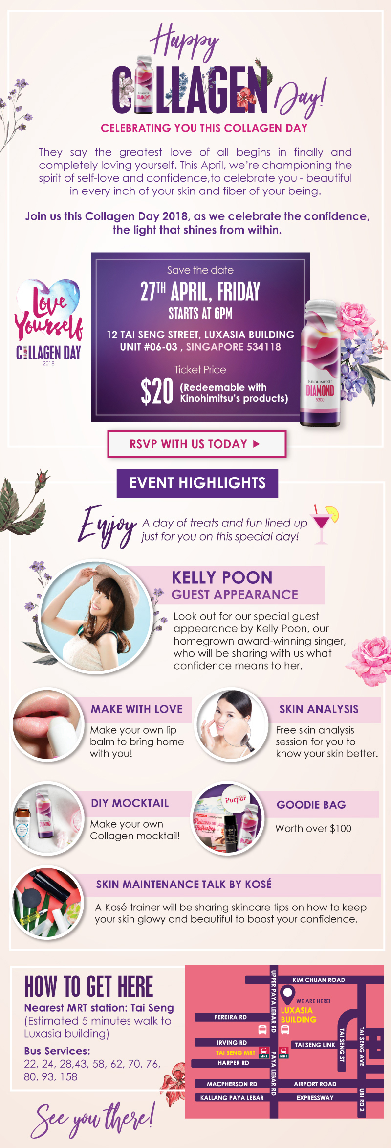 Collagen Day 2018 with Kelly Poon
