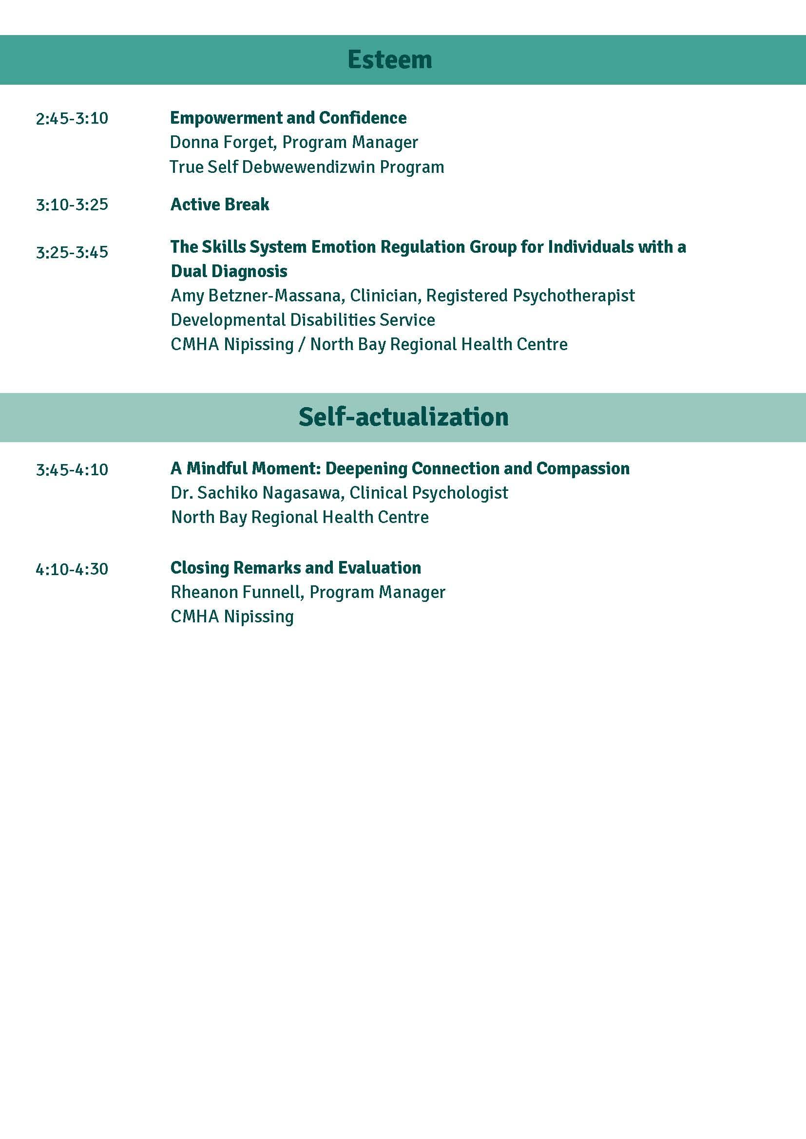 Agenda page 4