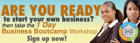 business startup 1 day bootcamp