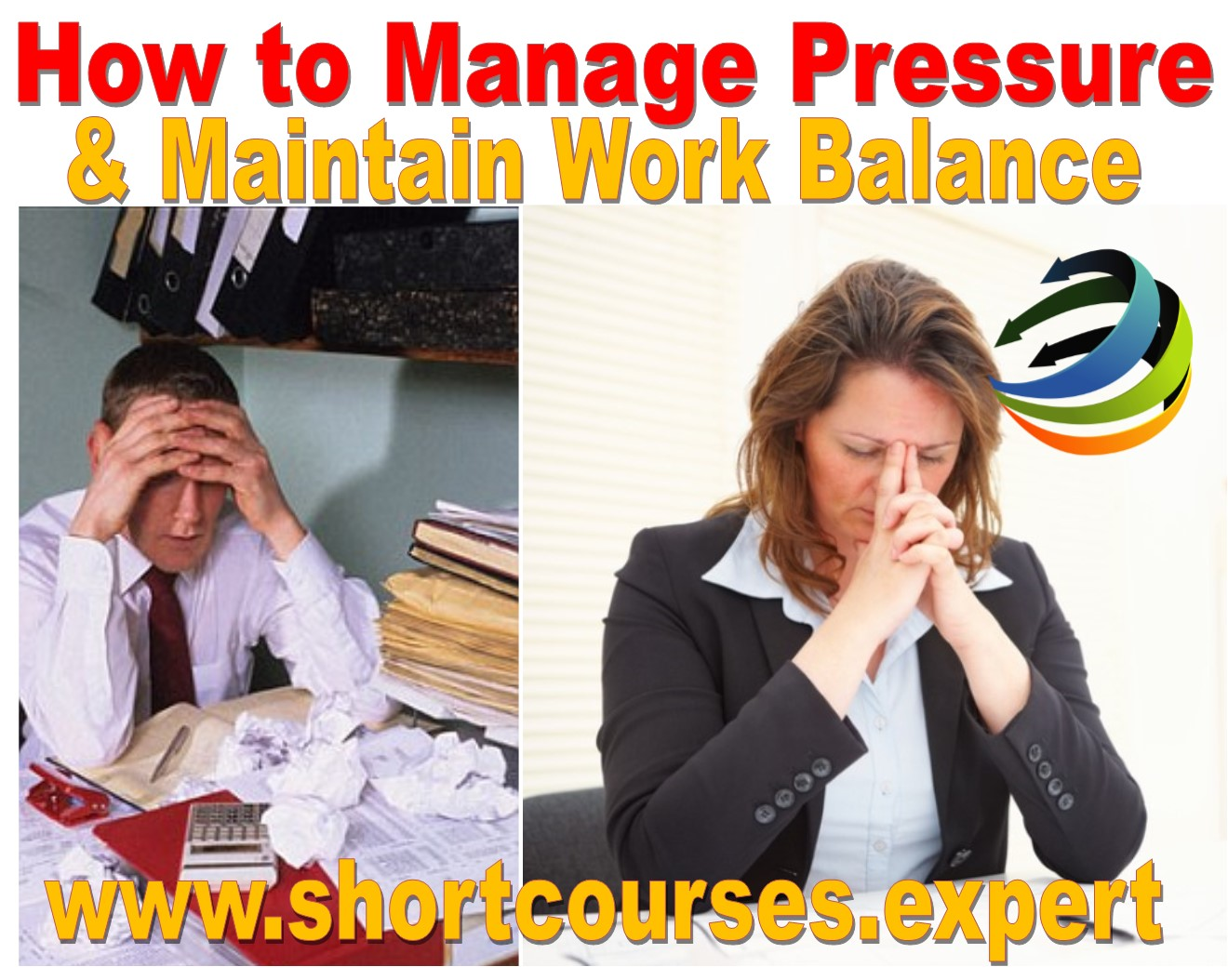 How to manage pressure at work 1 day course