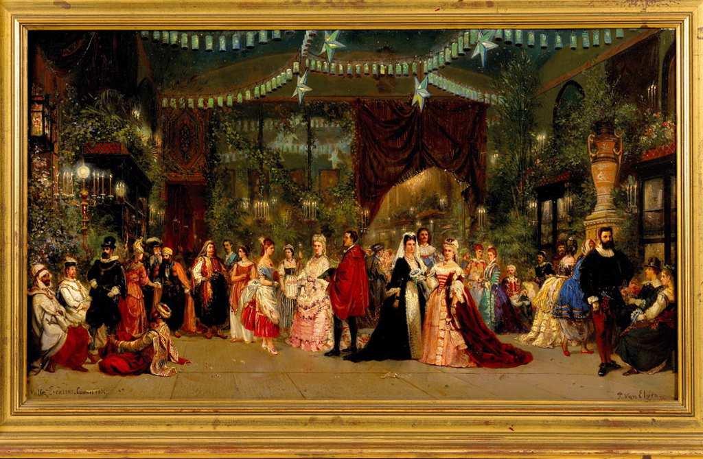 Bal Costumé - Pierre Tetar van Elfen