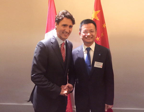 Canadian Prime Minster, Justin Trudeau, visited Jumore eCommerce HQ, while attending G20 Summit