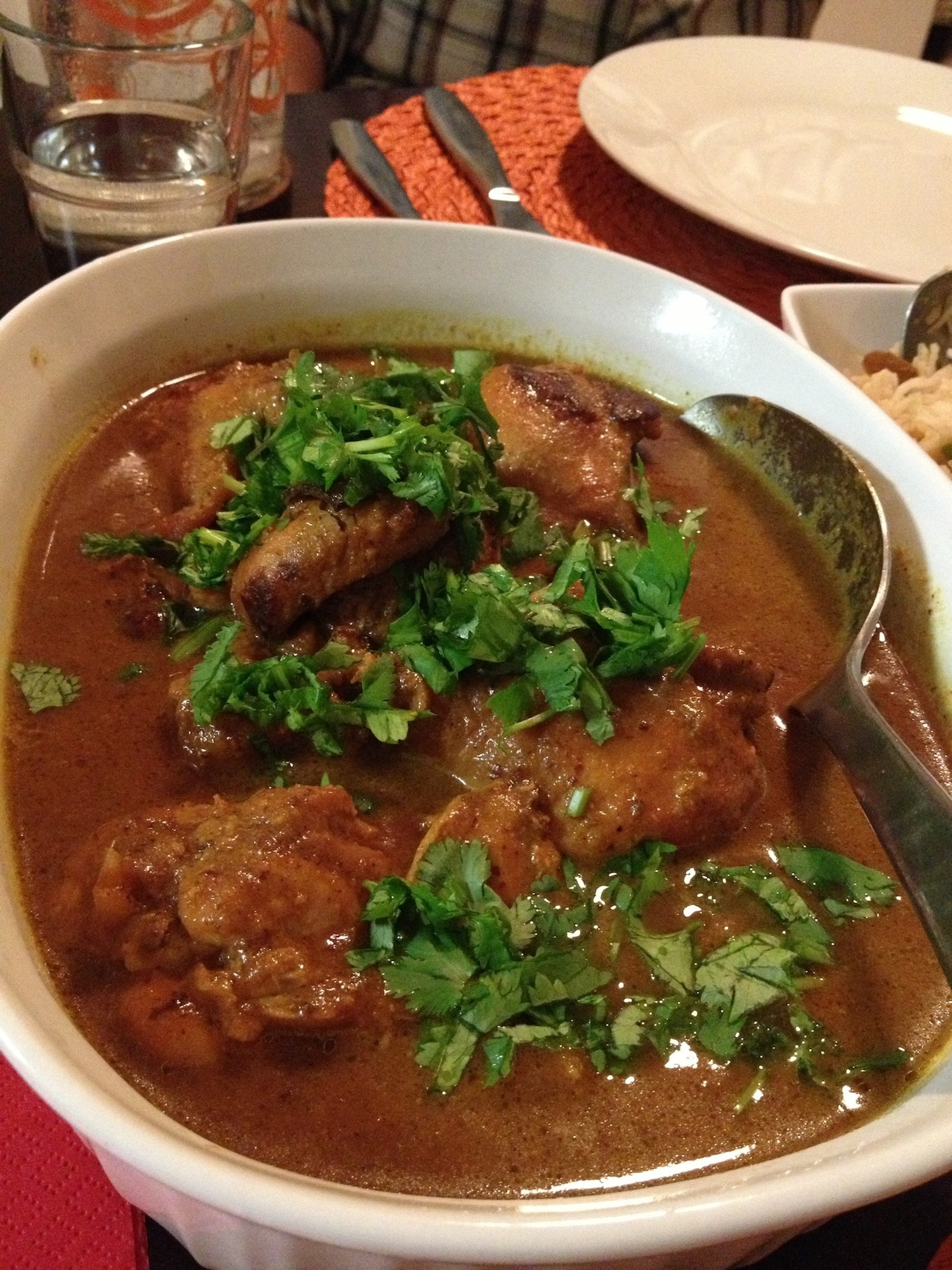 Chicken in a Nutty Gravy - I Heart Curry