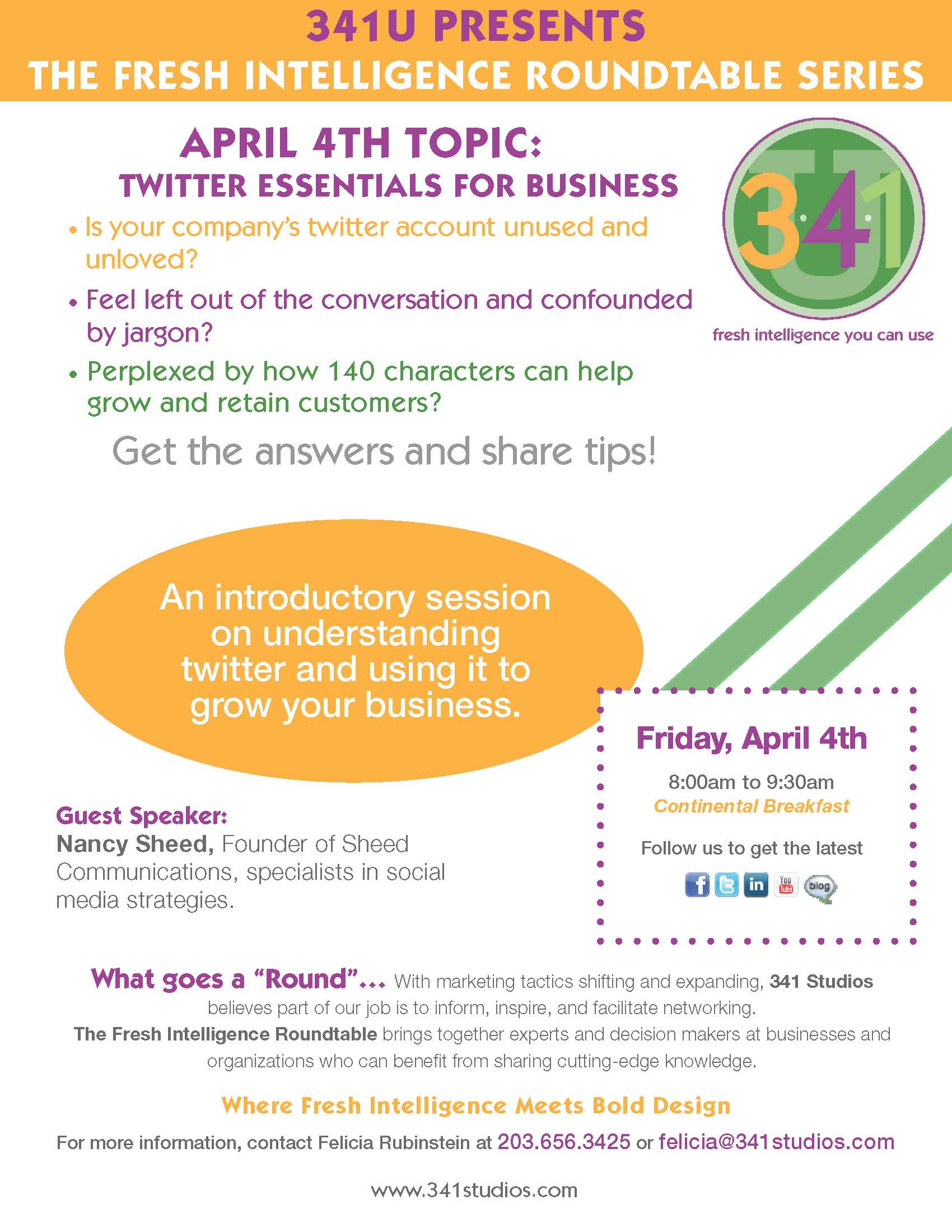 April 4-Twitter Essentials For Business