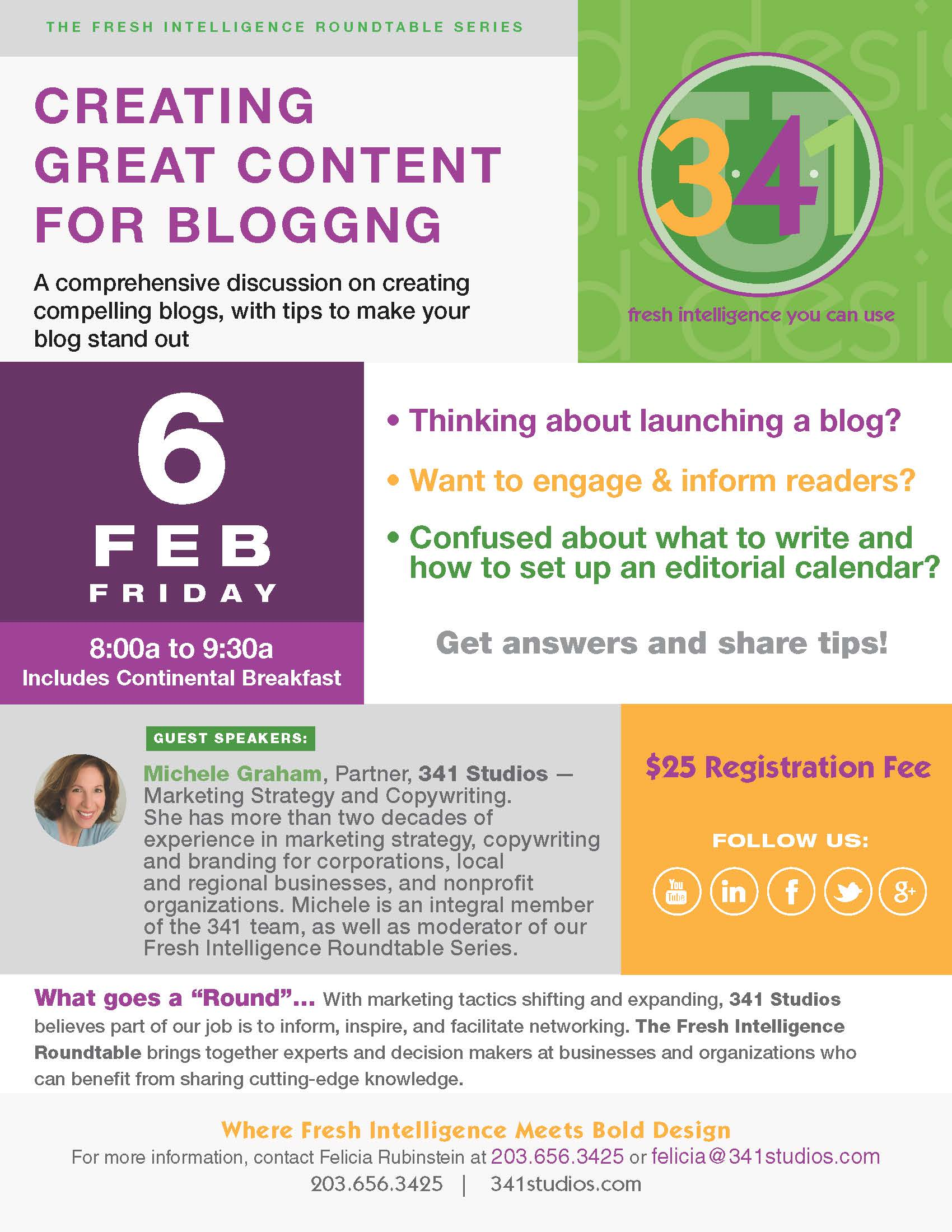 2/6/15 Creating Great Content for Blogging