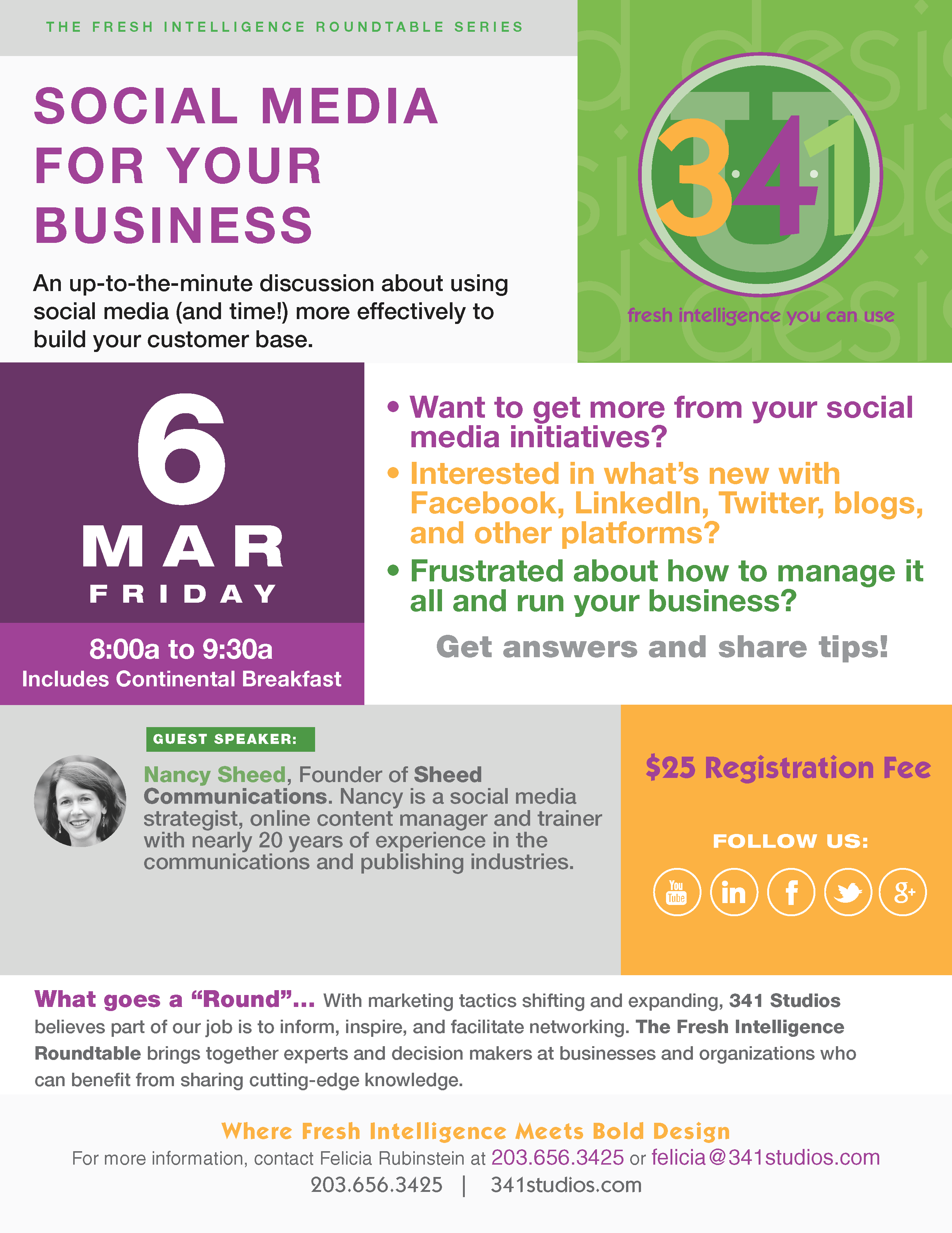 341U_March 6 2015_Social Media For Your Business