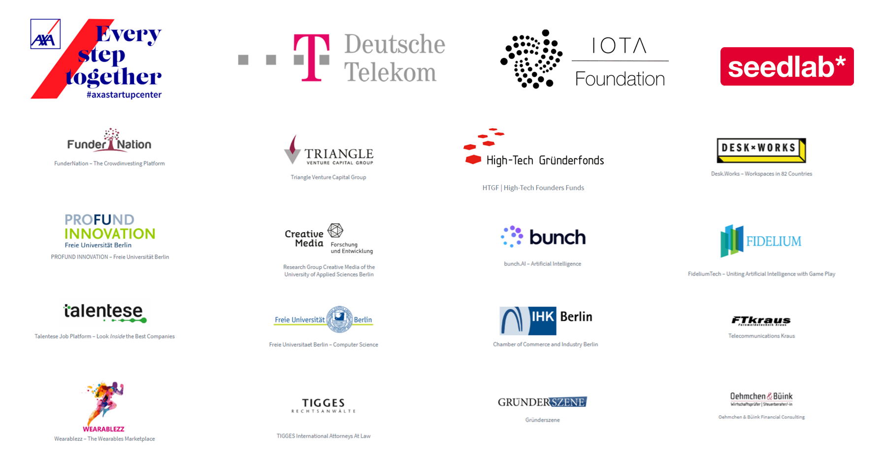 TOUCHING INNOVATIONS 2019   Sponsors include...
