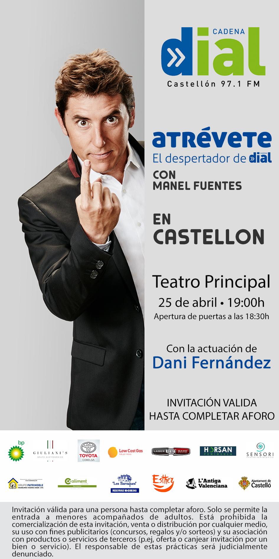 INVITACIÓN CASTELLÓN