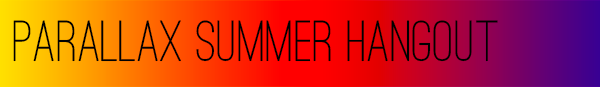 Parallax Summer Hangout Banner