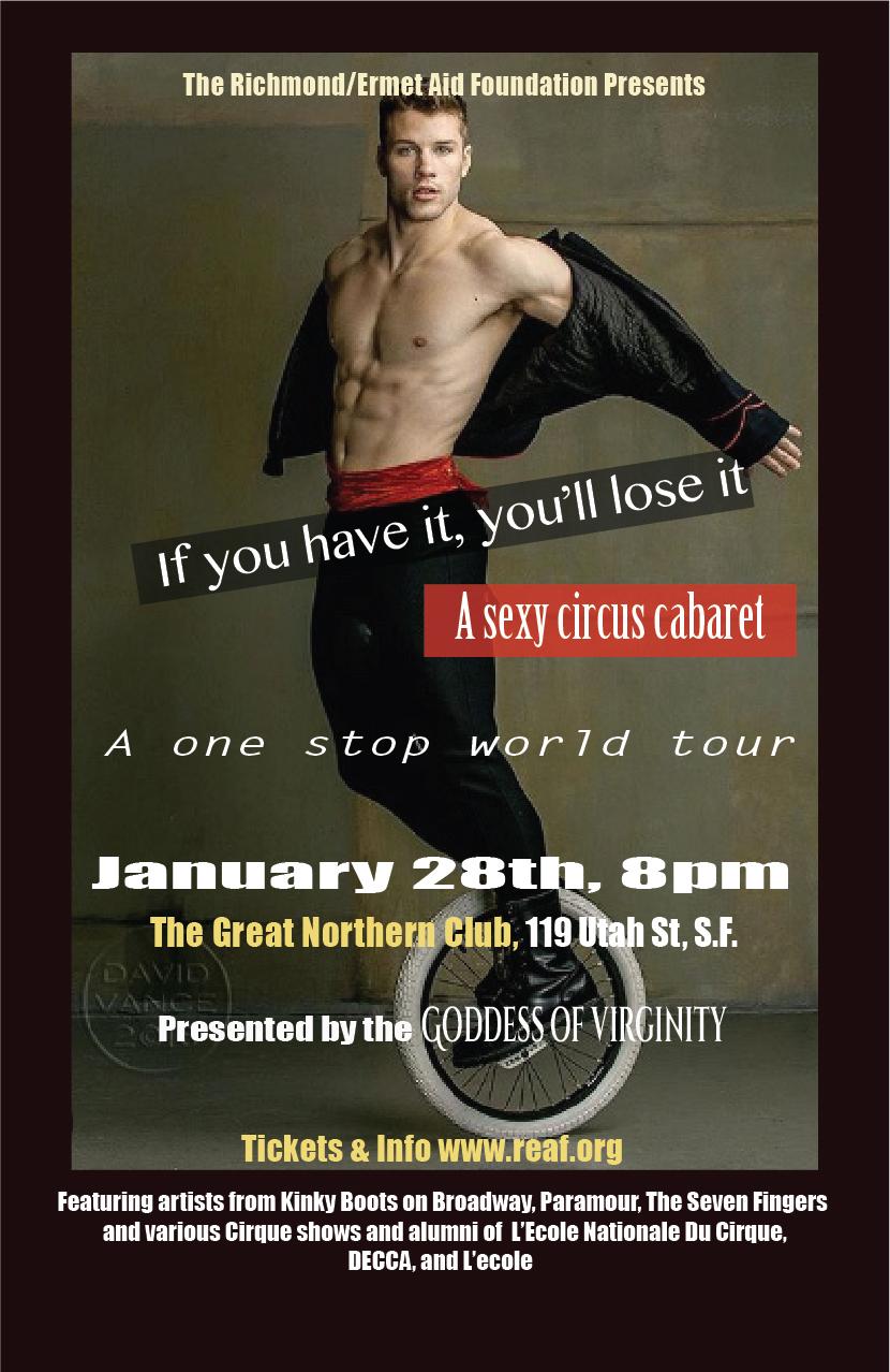 Cabaret Cirque flyer