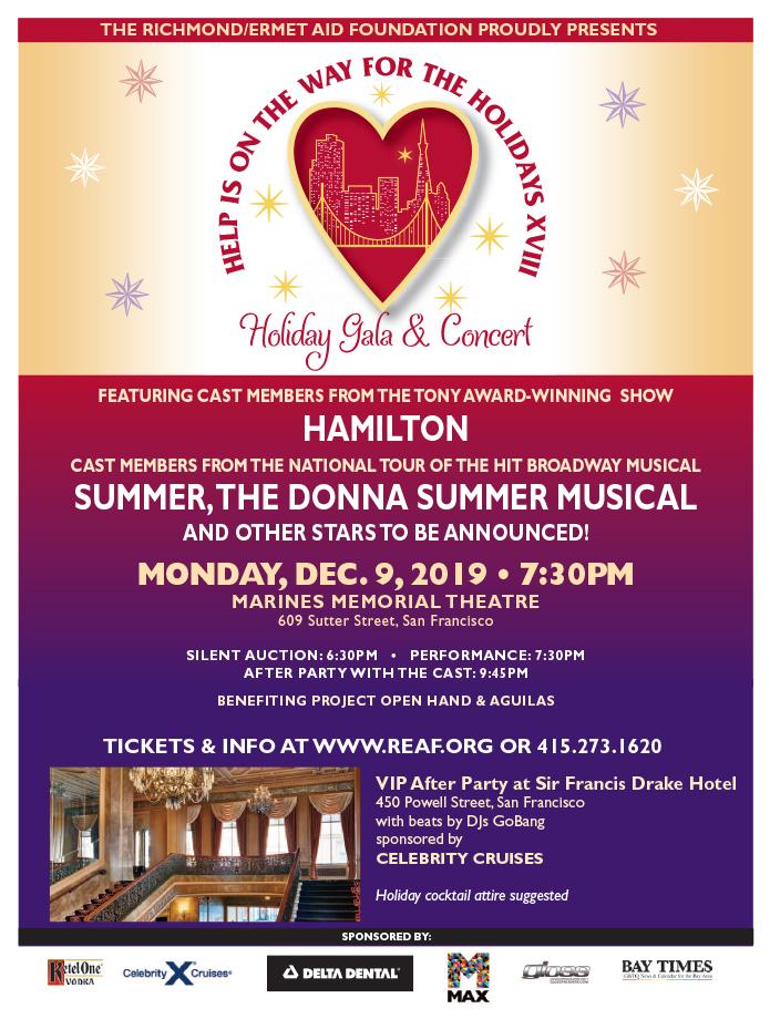 Holiday gala flyer