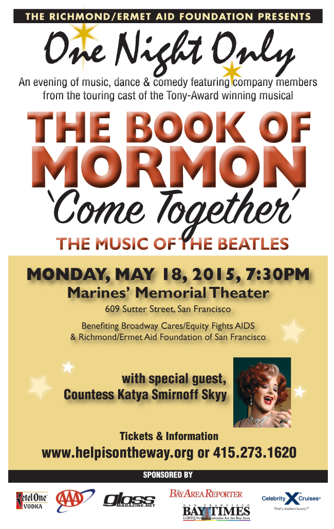 ONO with THE BOOK OF MORMON flyer
