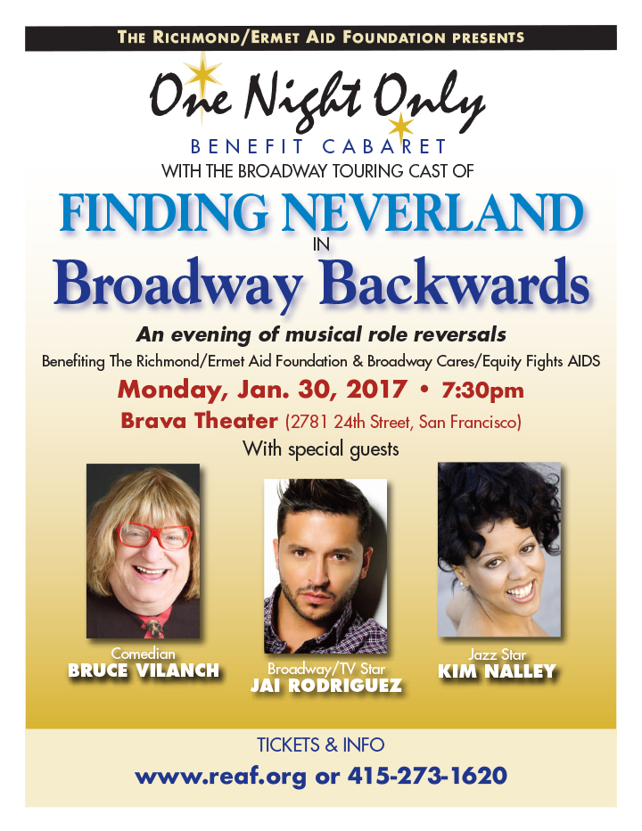One Night Only with Neverland flyer