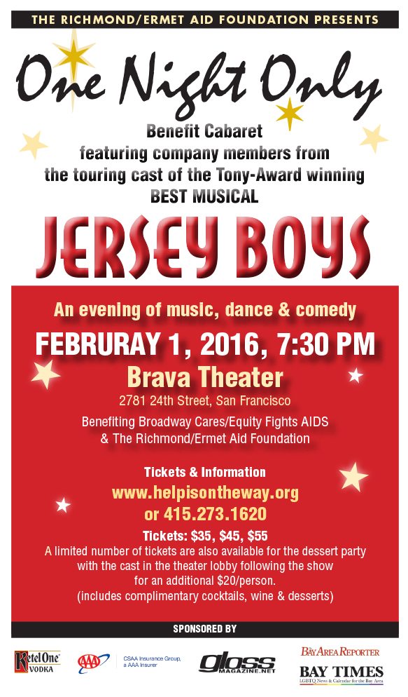 One Night Only with Jersey Boys 2016