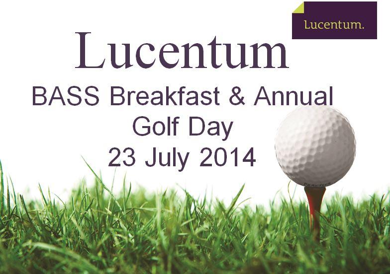 Bass Golf Day 2014