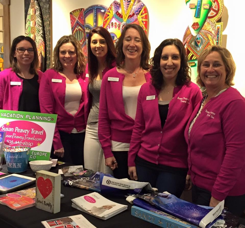 Susan Peavey Travel Team