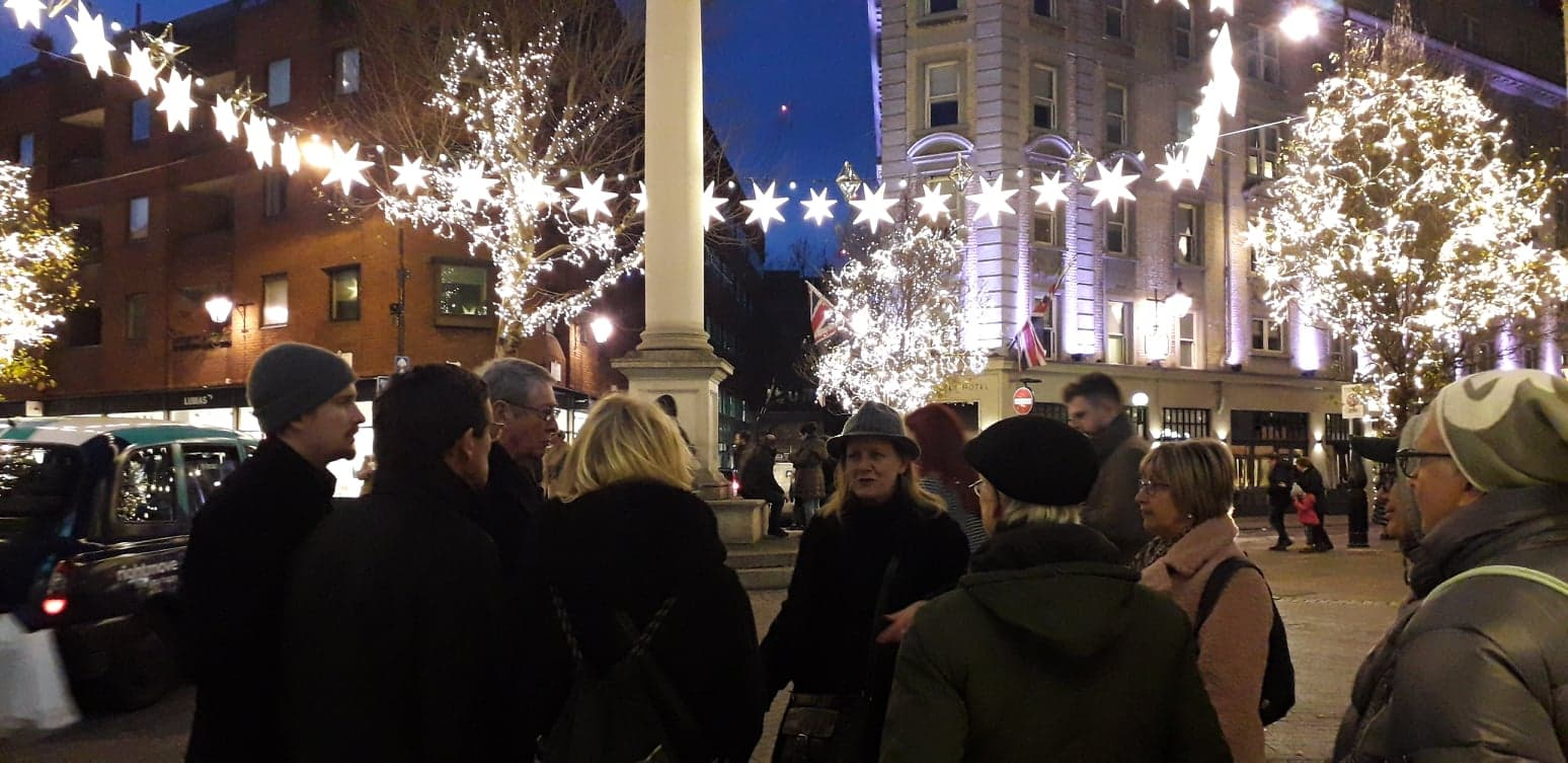 Seven Dials – thanks to Kate for the pic