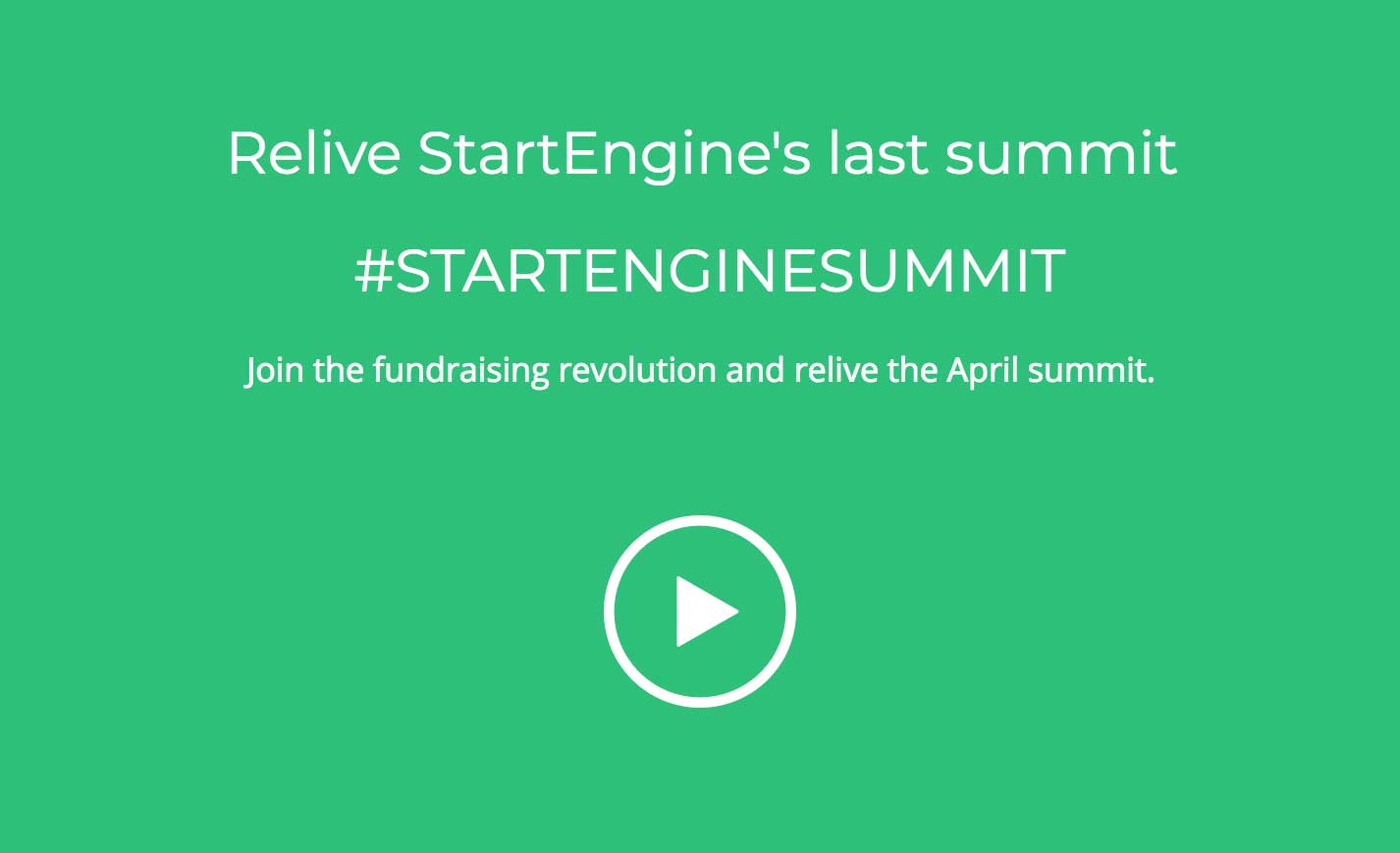Join the fundraising revolution and relive the April summit.