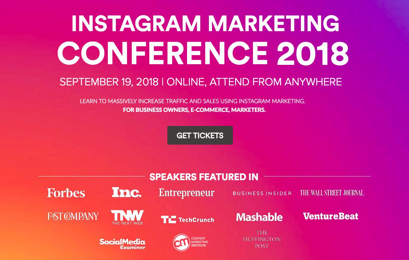 Instagram Marketing Conference