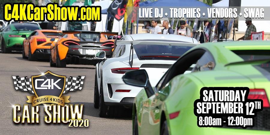 C4K Car Show 2020 Banner