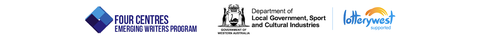 Four Centres Emerging Writers Program and the Department of Local Government, Sports and Cultural Industries and Lotterywest