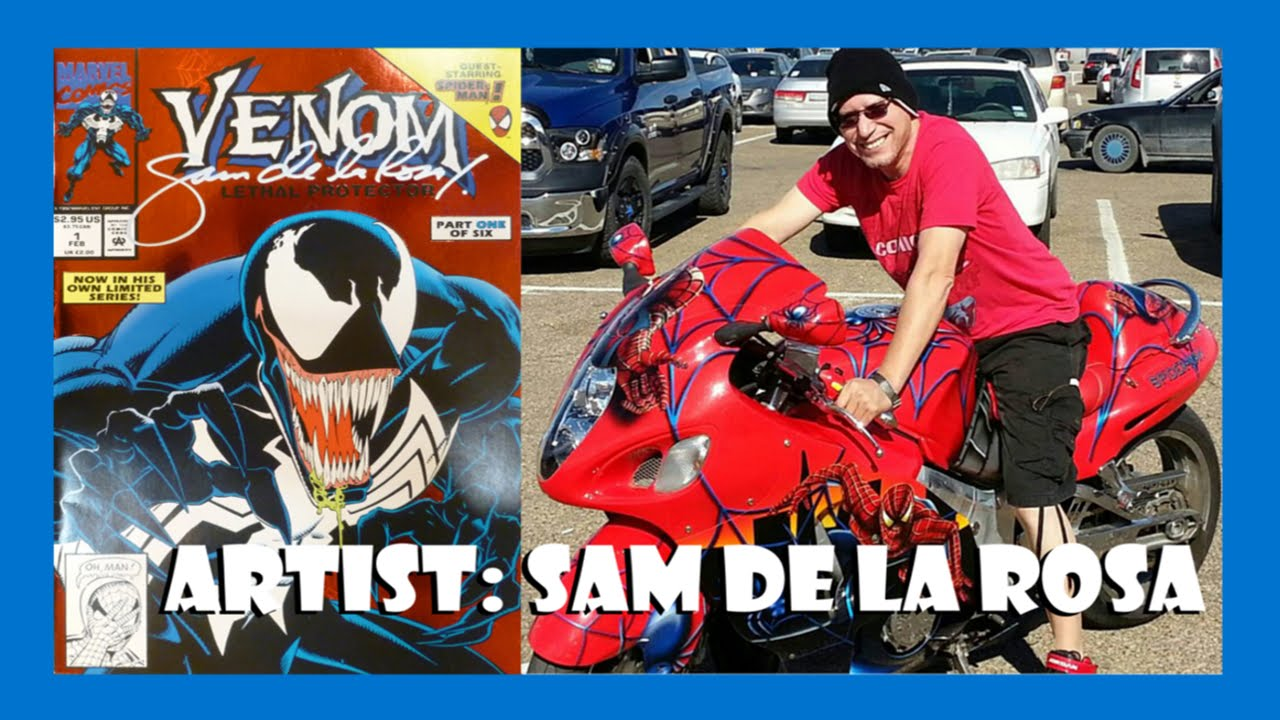 Artist Sam de la Rosa for Fanboys Comic Con