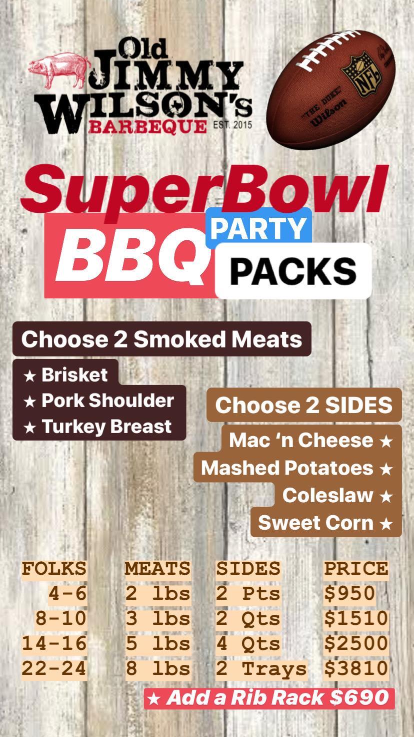 BBQ party packs