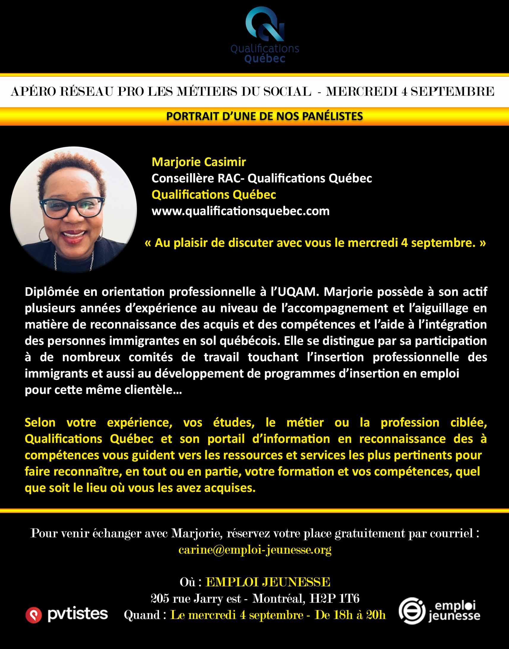 Qualifications Québec - CO