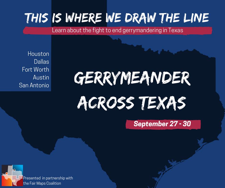 Gerrymeander Across Texas Tour