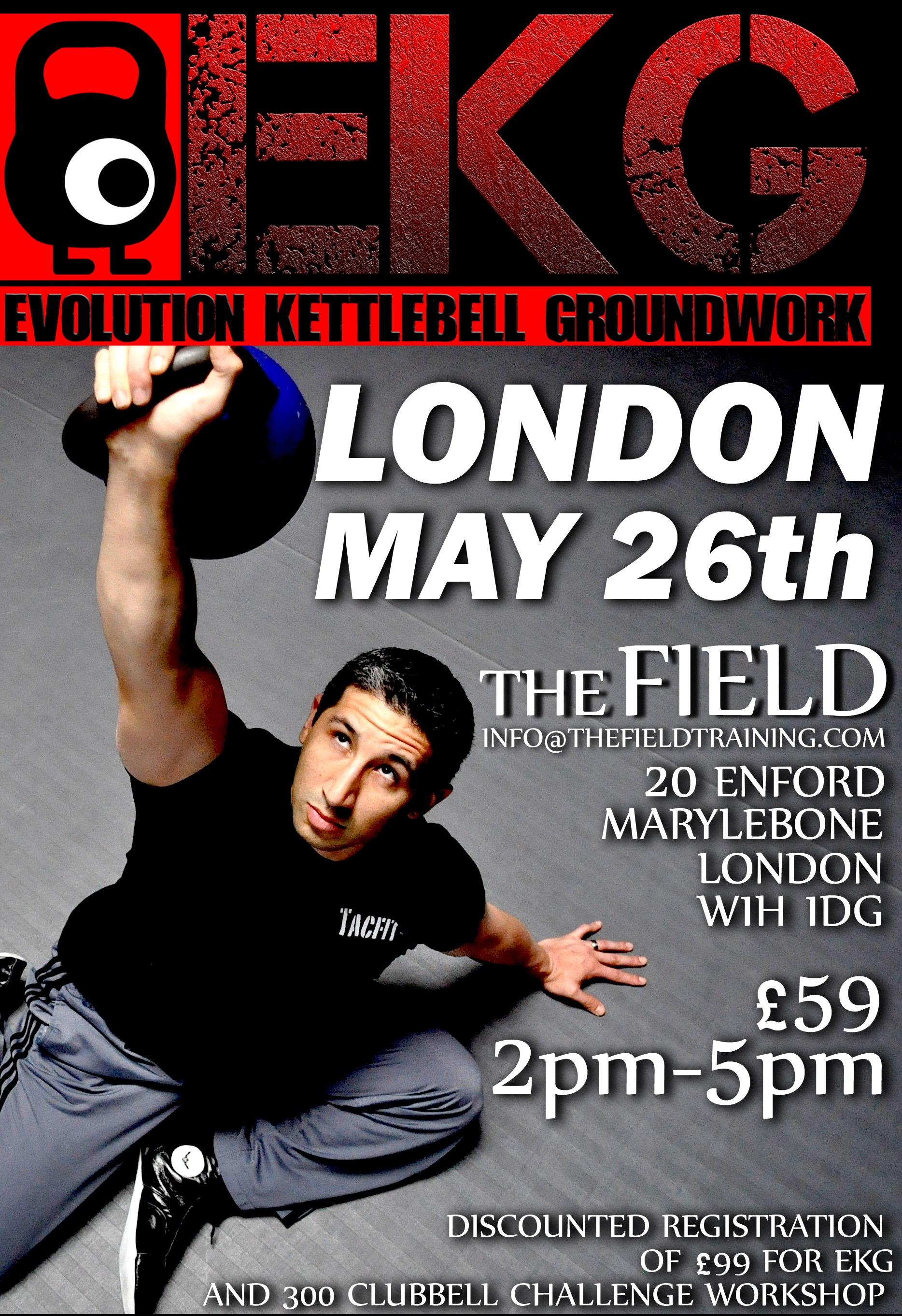 EKG Workshop Flyer London
