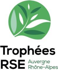 Logo Trophées RSE Auvergne Rhône-Alpes