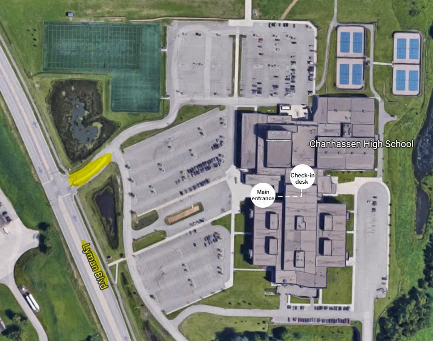 High School map