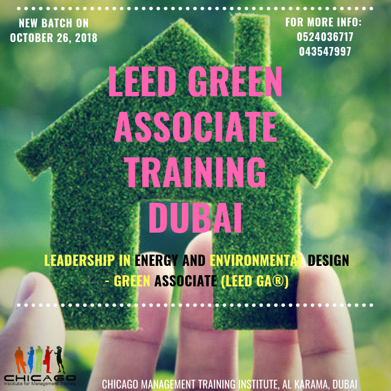 LEED GA Green Building Training in Dubai, UAE Tickets, Fri, Oct 26 ...
