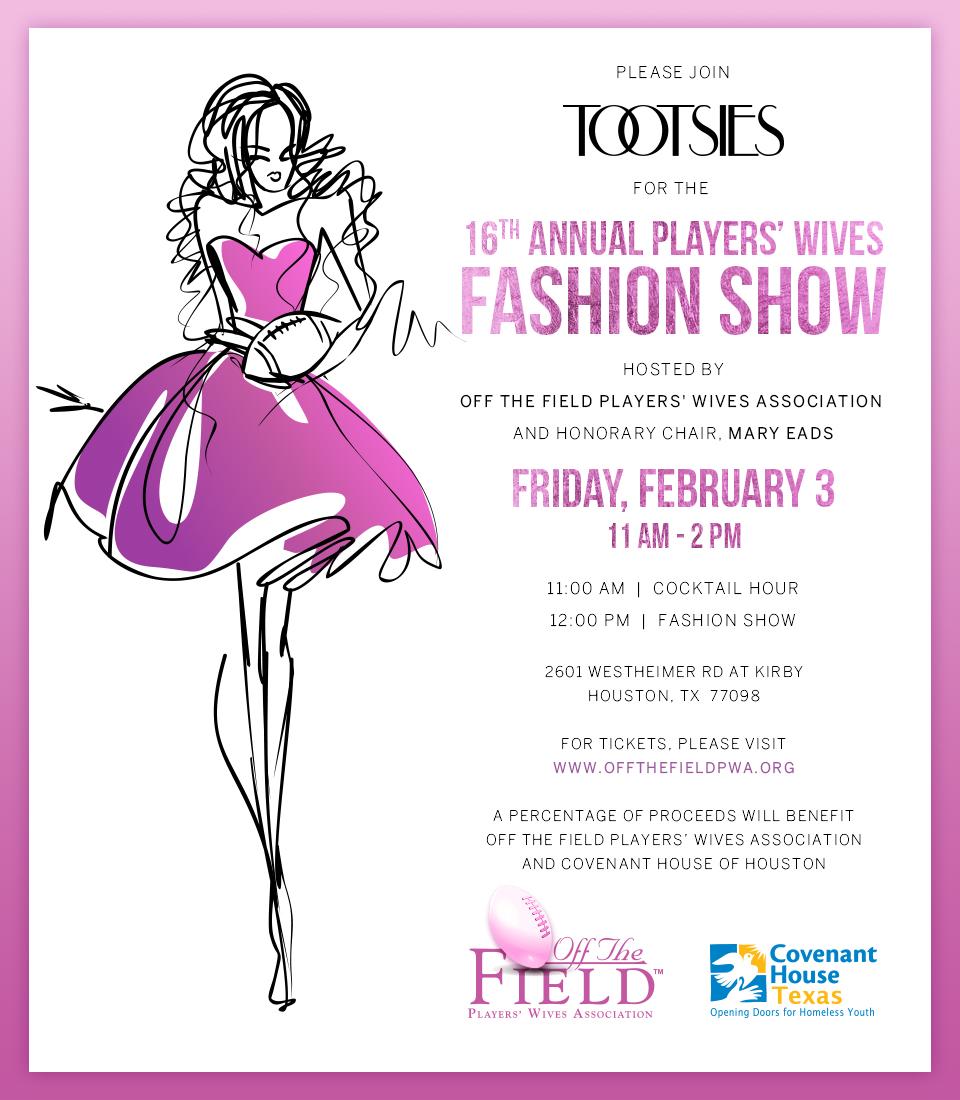 Fashion Show Invitation Message