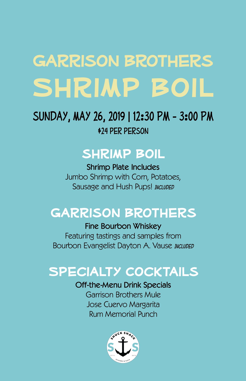 Shrimp Boil Menu