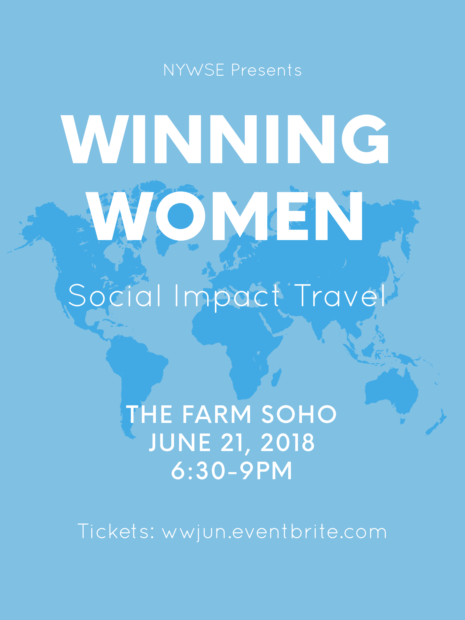 Winning Women: Social Impact Travel @ The Farm SoHo (2nd Floor) | New York | New York | United States