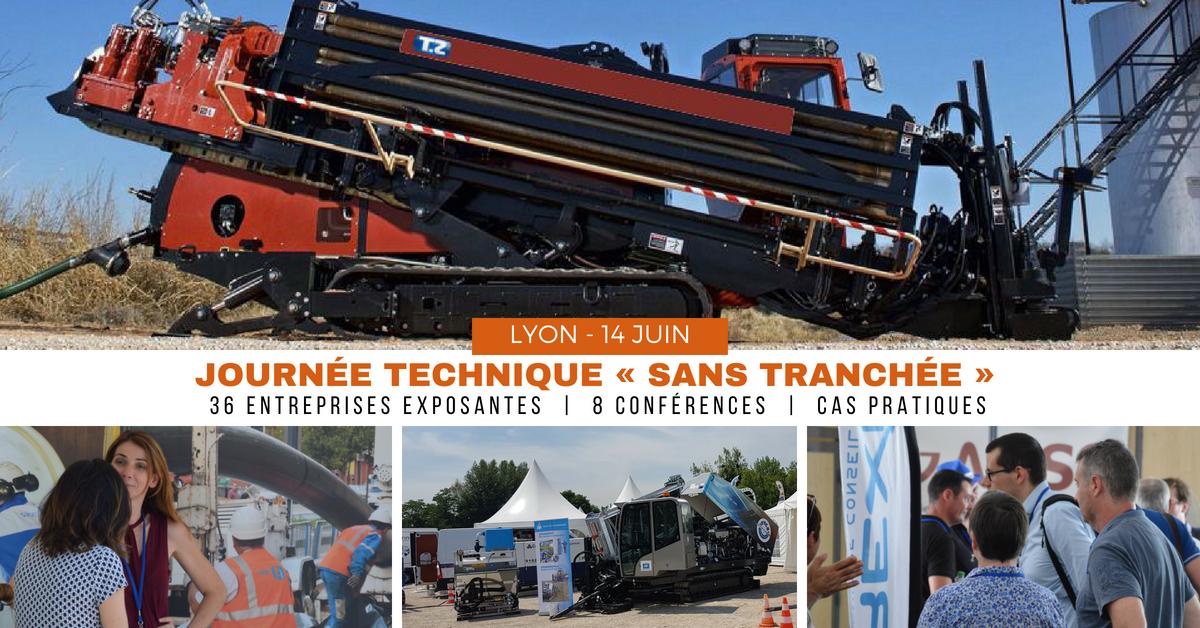 Journée technique sans tranchée 14 juin 2018 Lyon